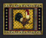 Provence Rooster I - mini Posters by Kimberly Poloson