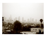 Los Angeles Haze Photographic Print by D. Denali