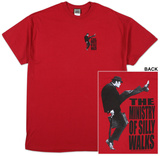 Monty Python - Logo Ministry Of Silly Walks T-Shirts