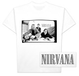 Nirvana - B & W Photo T-Shirt