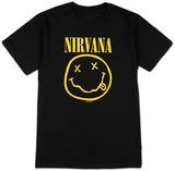 ニルヴァーナ - スマイル Tシャツ