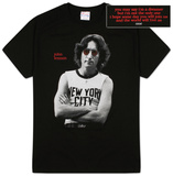 John Lennon - New York Photo T-skjorter