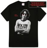 John Lennon - Foto a New York T-Shirts