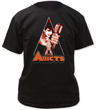 The Adicts- Clockwork Monkey Shirt