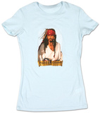 Juniors: Pirates of the Caribbean - Johnny Blue Fade T-shirts