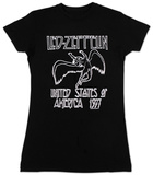 Juniors: Led Zeppelin - US '77 T-Shirt