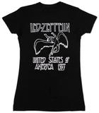 レディース: レッド・ツェッペリン - US '77 Tシャツ