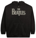 Zip Hoodie: The Beatles - Vintage Logo Moletom com zíper e capuz