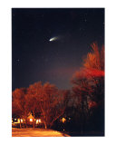 Hale-Bopp Comet 1997 Photographic Print by Nancy S. Mueller Shepherd