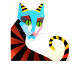 Kitty Boy Giclee Print by Susan Norris