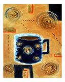 Coffee Swirl Giclee Print by Bryan Morgan