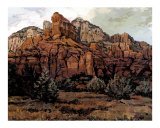Sedona Red Rock Giclee Print by Rick Kersten