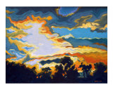 Sunset 1 Giclee Print by Milvi Gill