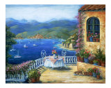 Pranzo Sul Terrazzo Giclee Print by Marilyn Bast Dunlap