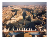 St Peter's Square Photographic Print by Alan R Zeleznikar