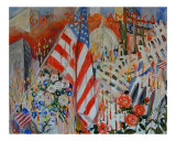 September 11 Attack Giclee Print by Ingrid Dohm
