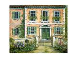 My Pink Italian Villa Pôsters por Marilyn Bast Dunlap