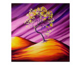 Yellow Tabebuia Tree, Giclee Print