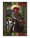 Zapata Giclee Print by Rick Kersten