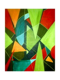 Teeming Triangles Giclee Print by Ruth Palmer