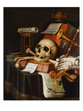 A Vanitas Giclee Print by Evert Collier
