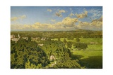 A View from Malvern Giclee Print by Julius Ehrke