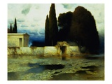 A Classical Landscape Giclee Print by Ferdinand Keller