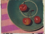 3 Rainier Cherries 2 Photographic Print by Jennifer Kennard
