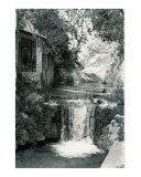 Waterfall in Moustiers Photographic Print by Vivienne Leibowich