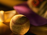 Baseball Photographic Print by Danilo Calilung
