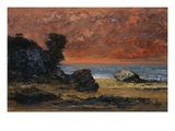 After the Storm Giclee Print by Gustave Courbet