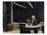 L'automate Reproduction procédé giclée par Edward Hopper