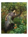 Automne Reproduction proc&#233;d&#233; gicl&#233;e par Frederick Walker