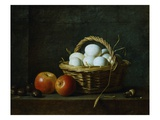 Basket of Eggs Giclee Print by Henri Roland De La Porte