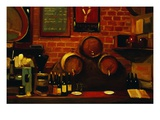 Bar in Madrid Giclee Print by Pam Ingalls