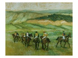 Before the Race Giclee Print by Edgar Degas