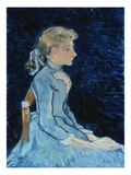Adeline Ravoux Giclee Print by Vincent van Gogh