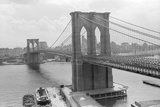 Brooklyn Bridge and Manhattan Skyline Photographic Print by Philip Gendreau