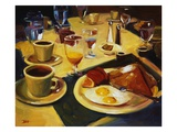 Breakfast Giclee Print by Pam Ingalls