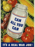 Can All You Can Poster Photographic Print