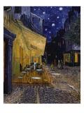 Caféterasse bei Nacht Giclée-Premiumdruck von Vincent van Gogh