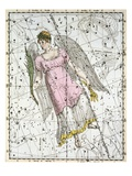 The Constellation Virgo from A Celestial Atlas Giclee Print by A. Jamieson