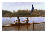 Biglen Brothers Turning the Stake Giclee Print by Thomas Eakins