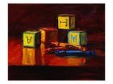 Blocks Premium Giclee Print by Pam Ingalls