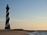 Cape Hatteras Lighthouse at Sunrise Photographic Print by Joseph Sohm