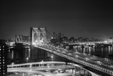 Brooklyn Bridge at Night Photographic Print by Philip Gendreau
