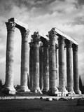 Columns with Corinthian Capitals Photographic Print