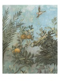 Detail Showing Scene from Roman Fresco of Tree with Birds Giclee Print by Araldo Luca