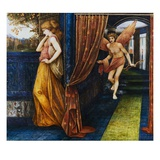 Cupid and Psyche Giclee Print by John Roddam Spencer Stanhope