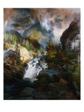 Children of the Mountain Giclee Print by Thomas Moran